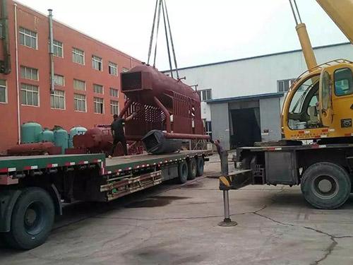 烟筒山20吨锅炉工程