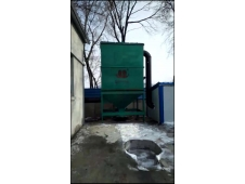 永吉热水厂2吨蒸汽锅炉布袋除尘器