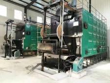 2臺10噸臥式生物質熱水鍋爐