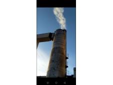 德惠新城供热40吨白钢脱硫塔